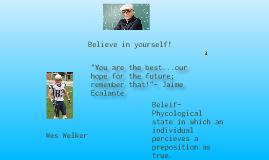 Copy of Belief in oneself