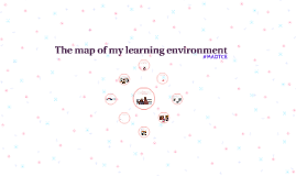 The map of my learning environment
