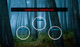together we are...making life easier