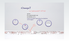 """Copy of iOmegaT - an """"instrumented"""" CAT tool"""