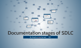 Documentation stages of SDLC