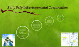 Bully Pulpit: Environmental Conservation