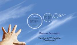 Rainer Schmidt