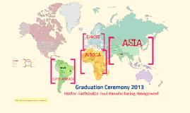 Graduation Ceremony 2013, MSc SF2M, ISA