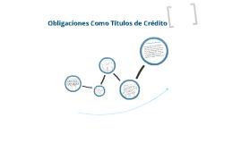 Copy of Obligaciones como Titulos de Credito