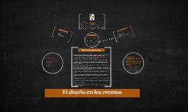 El diseño en los eventos