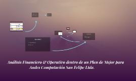 Análisis Financiero & Operativo dentro de un Plan de M