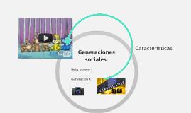Generaciones sociales.