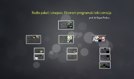 Radijsko novinarstvo (III i IV) 2017