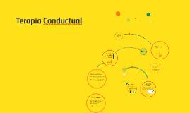Copy of Terapia conductual