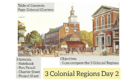 3 Colonial Regions Day 2