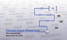 Titanium Frame Wheelchairs