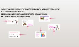 IMPORTANCIA DE LA PARTICIPACIÓN RAZONADA.
