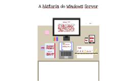A história do Windows Server