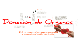 Copy of Donación de órganos