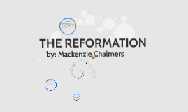 What led to the Reformation?