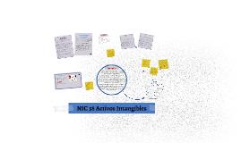 NIC 38 Activos Intangibles- CArlos