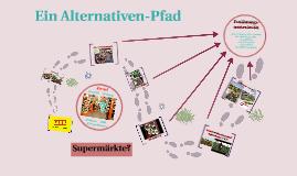 Supermarkt Alternativenpfad