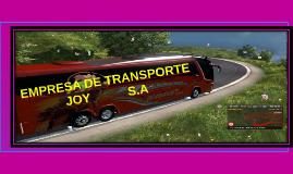 EMPRESA DE TRANSPORTE JOY S.A