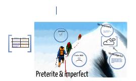 imperfecto/preterito: desastres