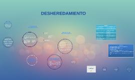 DESHEREDAMIENTO O EXHEREDACION