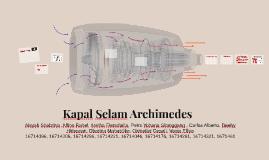 Kapal Selam Archimedes
