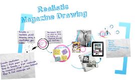 Realistic Magazine drawing