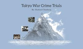 Tokyo War Crimes