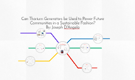 Thorium Generators