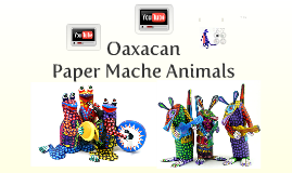 Oaxacan Paper Mache Animals Art Lesson Presentation
