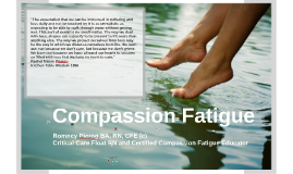 Compassion Fatigue: Human Trafficking and Social Justice Conference
