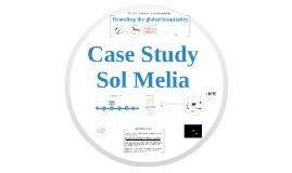 TL3018 - Sol Melia Case Study