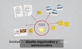 Copy of Diseño organizativo y administrativo
