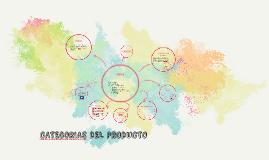 CATEGORIAS DEL PRODUCTO