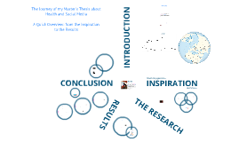 Copy of The Journey of my Master's Thesis about Health and Social Media- A Quick Overview: from Inspiration to the Results