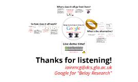 Google Belay: Authorization Unbound