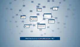 "PROTOCOLO DE COMUNICACION ""IRC"""