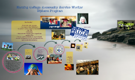 Communty Service Worker Diploma Program