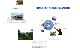Unit 3 - Principles of Ecological Design