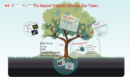 The Student Program: Growing Our Future
