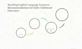 Teaching English Language Learners: Recommendations for Earl