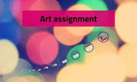 Art assignment