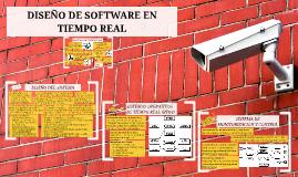 Copy of DISEÑO DE SOFTWARE EN TIEMPO REAL