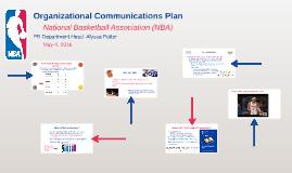 Organizational Communications Plan