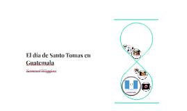 Copy of Santo Tomas