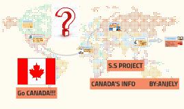 Copy of Economics About Canada