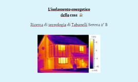 Isolamento energetico della casa