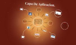 Capa De Aplicacion.