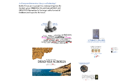Session 7: Sketch of Qumran Practice and Belief