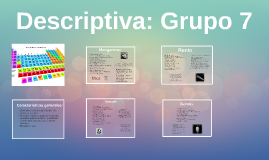 Descriptiva: Grupo 7